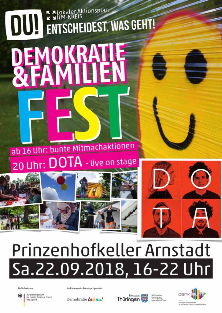 Demokratie- und Familienfest in Arnstadt – BGRE